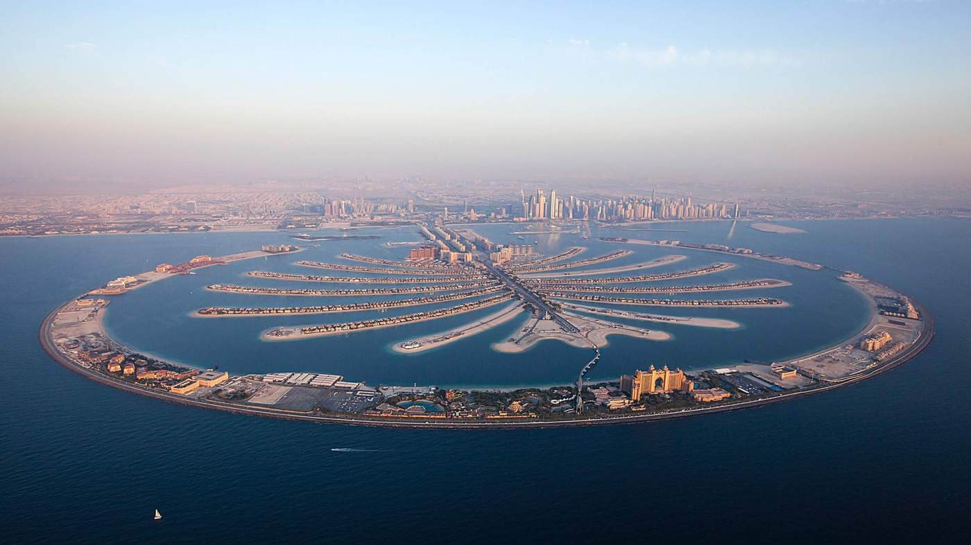 Image result for Explore The Planet - Manufactured Archipelago in Dubai
