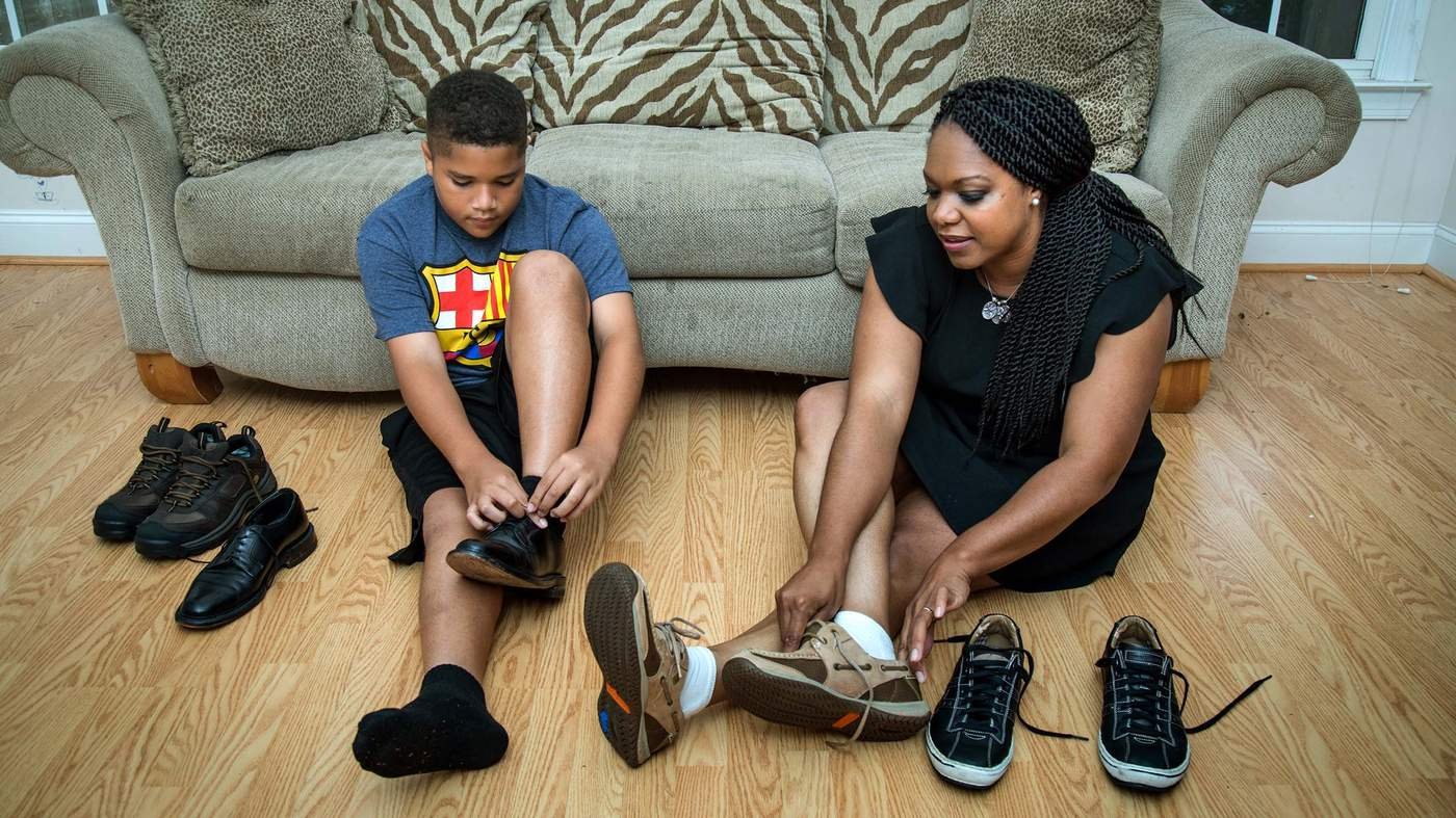 Writer Nicki Salcedo Of Decatur Pictured Here With Her 10 Year Old Son Nolan Has Struggled Grief Over The Father In 2018 Photos By