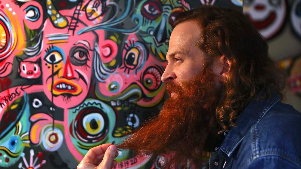 Kyle Brooks Whimsical Street Art Has Made Him A Darling Of Corporate Atlanta