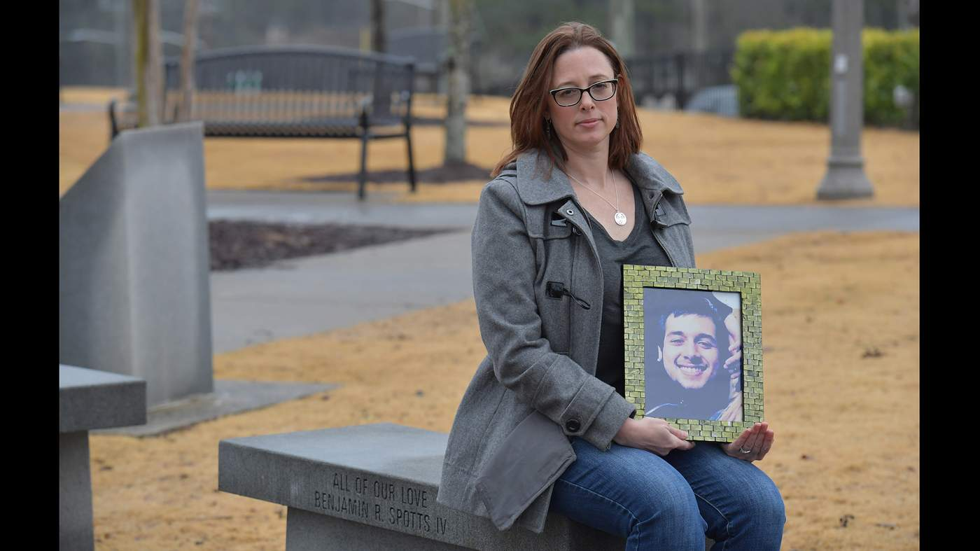 A Canton woman loses a son but gains a whole new family